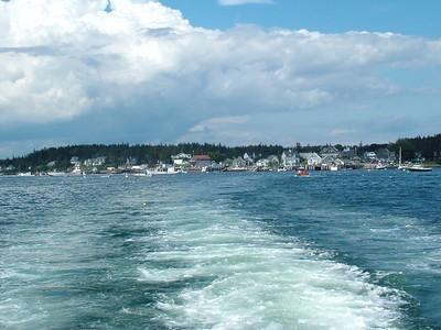 Leaving Port Clyde for Monhegan Island