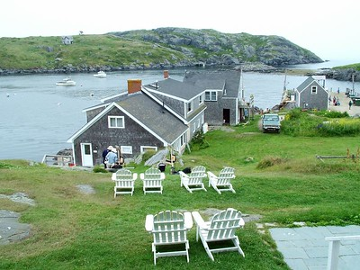 View from porch of Island Inn
