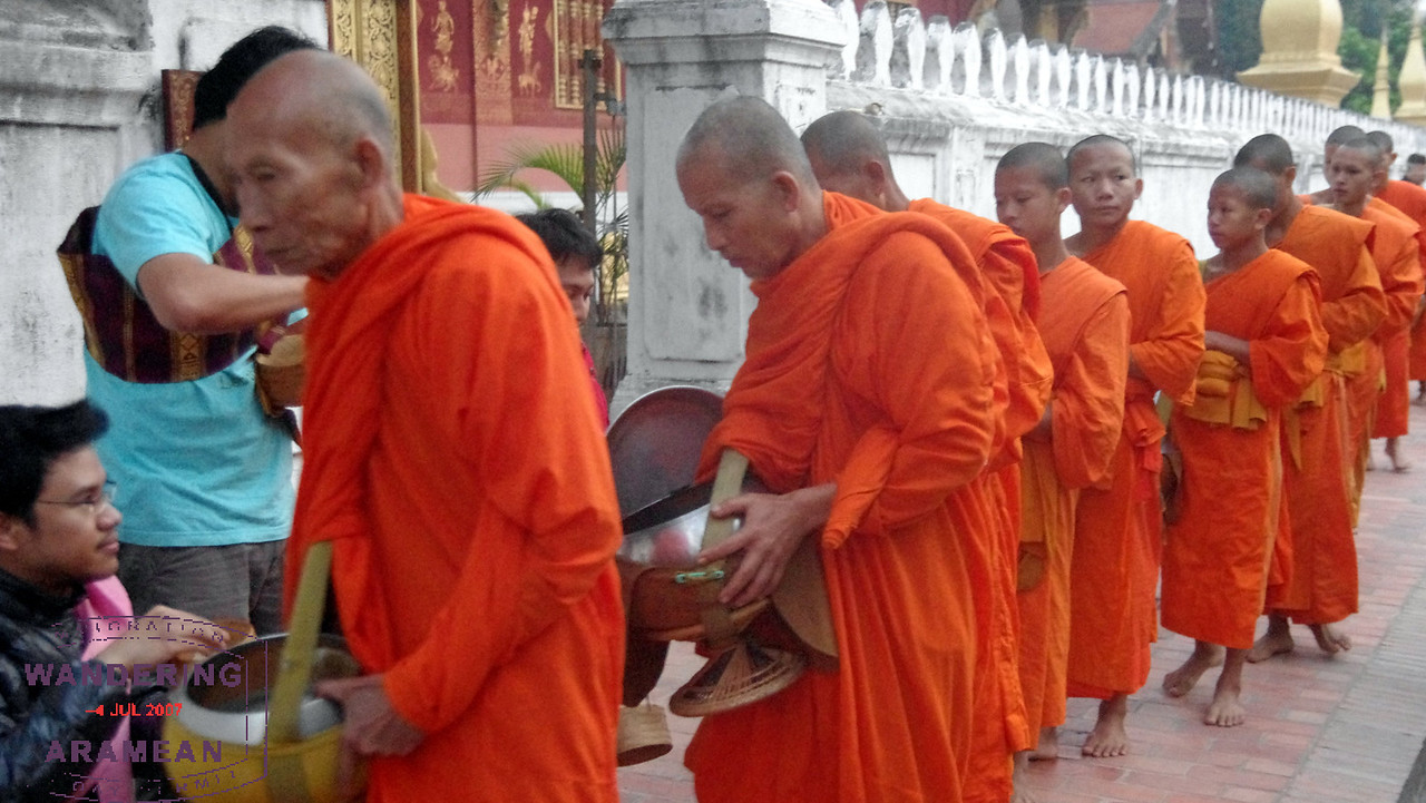 Monks of all ages participate