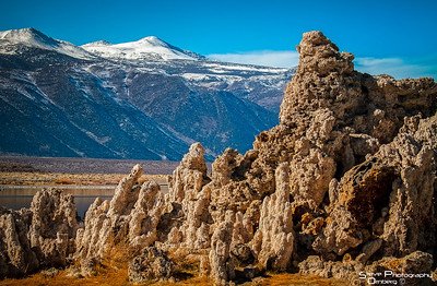 Mt Wood behind the Mono Lake Tufas