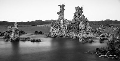 Mono Lake Tufa in B&W