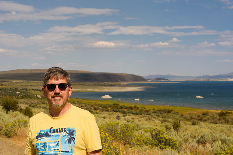 Mono Lake, Tufa and crew