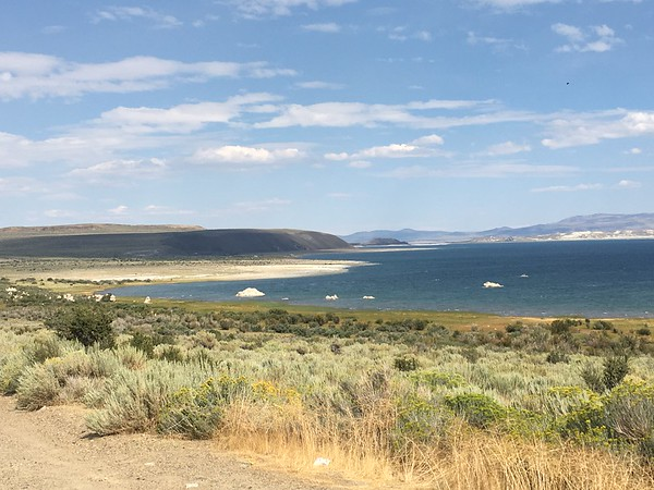 Mono Lake with tufa