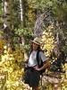 Anita in the Aspen on Parker Lk trail