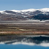 Mono Lake Reflections with Snow