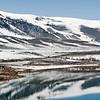 Mono Lake Reflections with Snow