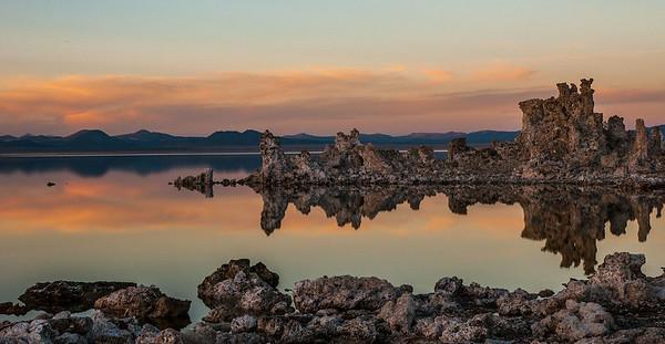 Dusk at Mono Lake