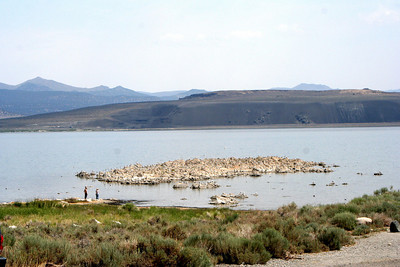 7/10/07 View from Mono Lake Access Area, Mono County, Eastern Sierras, CA