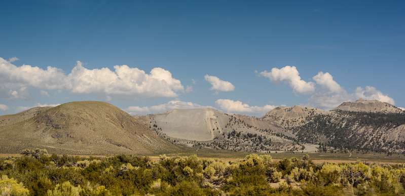 Mountains above Mono Lake