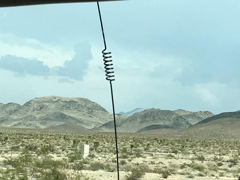 More Nevada desert