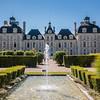 Chateau de Cheverny in Loire Valley