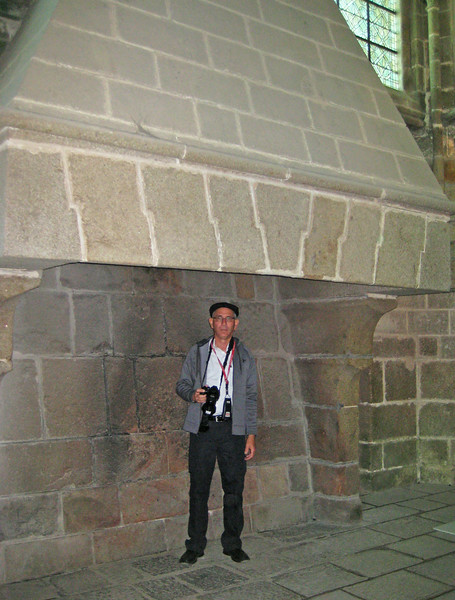 The abby's fireplace