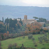 A view of the countryside from Montalcino.