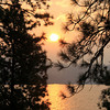 """Sunrise""<br /> Tubbs Hill<br /> Lake Couer d'Alene, ID"