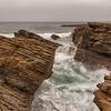 Treacherous cliffs