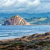 The Rock at Morro Bay, taken from the Pismo Beach Dunes.