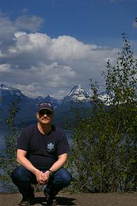 Kevin Haney at Lake McDonald in Glacier National Park