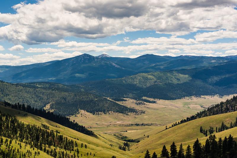 Big views, National Bison Range