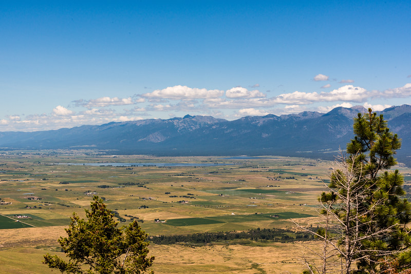Flathead valley to the North