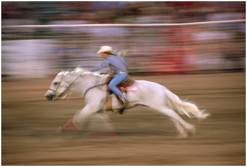 Cowgirl - (Camera Panning)