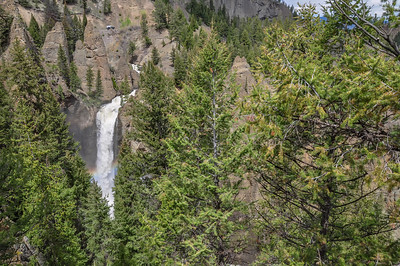 Tower Fall, Yellowstone National Park see lil truck for size-perspective