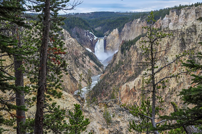 Artist Point - Grand Canyon of the Yellowstone River WY