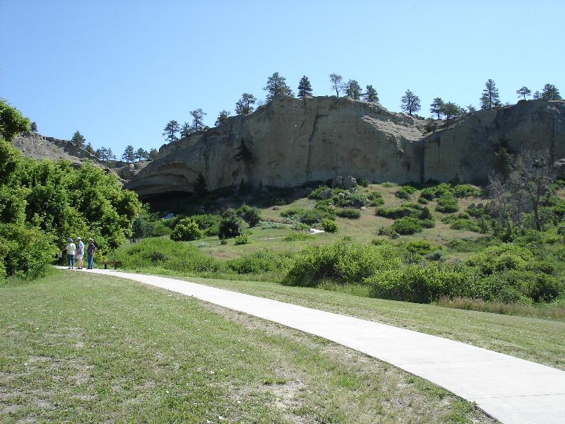Pictograph Cave State Park, Billings, MT.