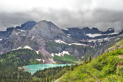 Stormy Skies Over Grinnell Lake