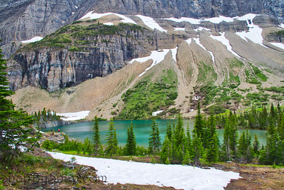 The Majestic Iceberg Lake