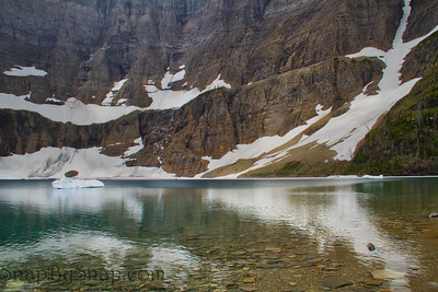 The Majestic Iceberg Lake