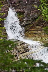 Ptarmigan Falls in Summer