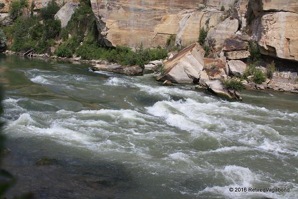 Missouri River below Great Falls