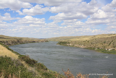 Missouri River - Lewis and Clark were diverted here