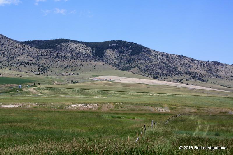 Farms near Lewis and Clark SP