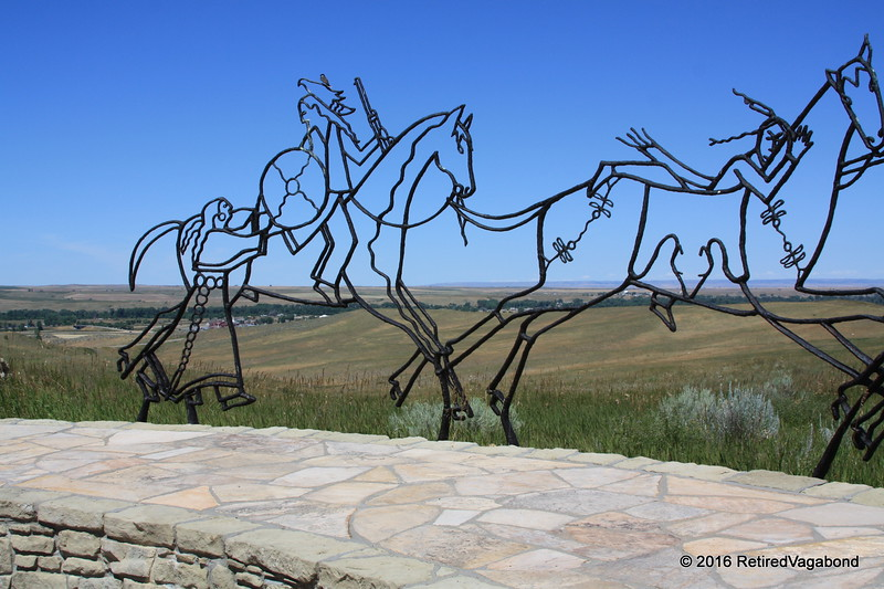 The Native American Memorial at Little Bighorn