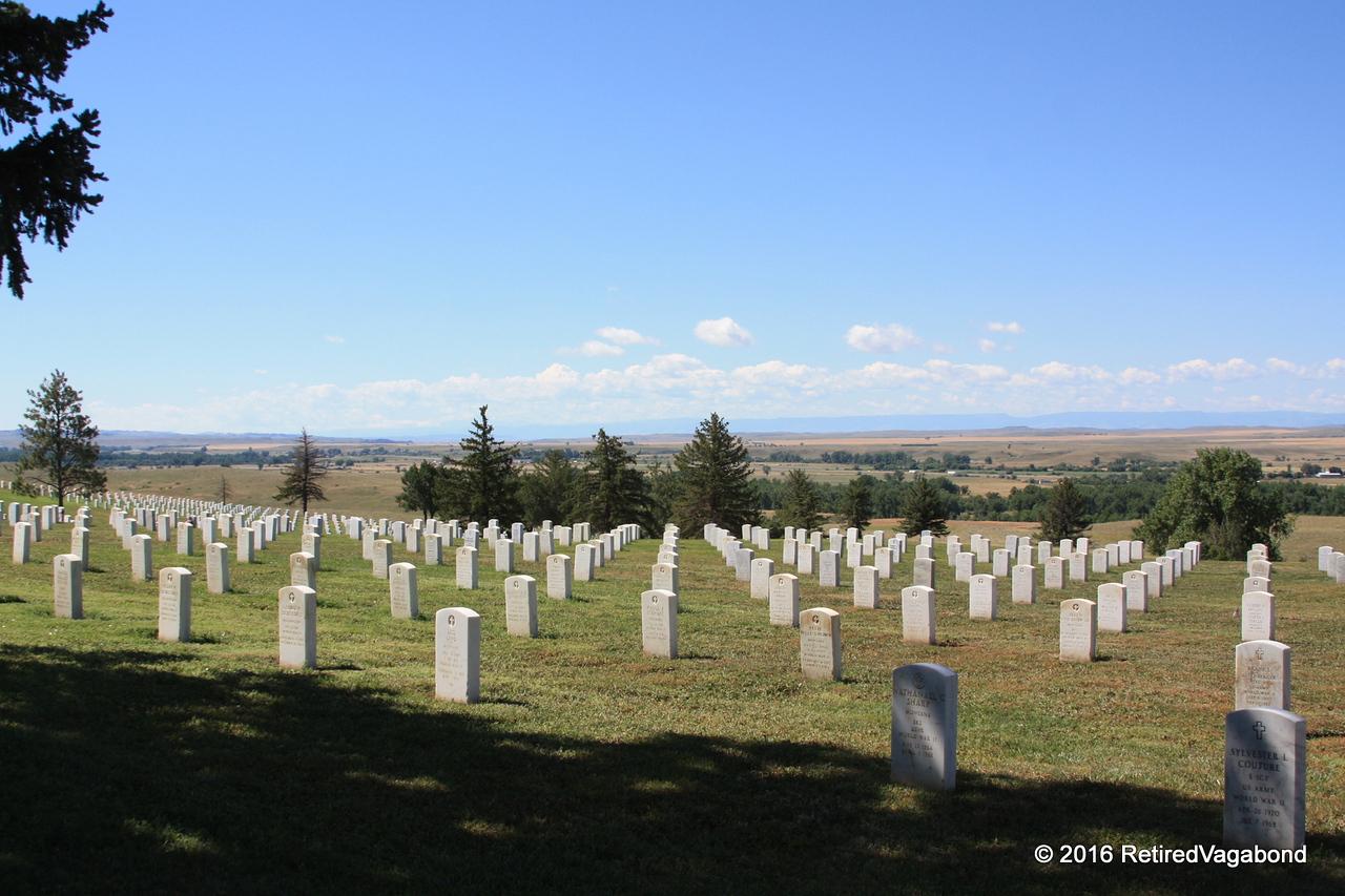 National Veterans Cemetary at Little Bighorn
