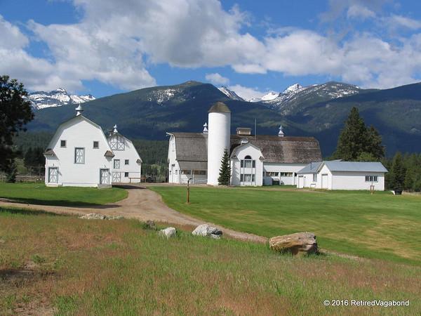 Chief Joseph Ranch Barns