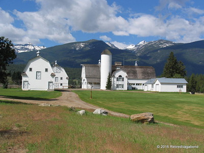 Chief Joseph Ranch Barns