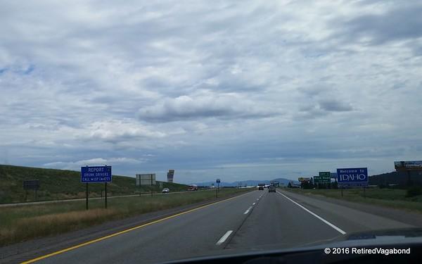 Passing through Idaho