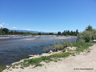 Bitterroot River at Tucker Crossing