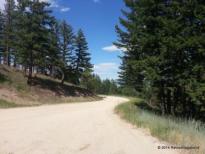Dirt Road to Blodgett Trailhead