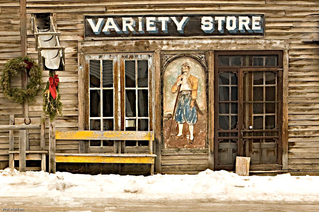 Variety Store, Virginia City Montana