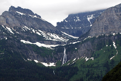 Heaven's Peak & St. Mary Falls, Glacier National Park