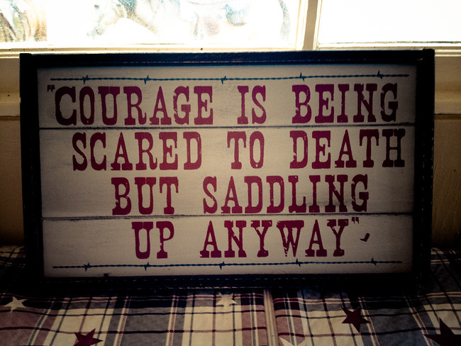 inspirational cowboy quote