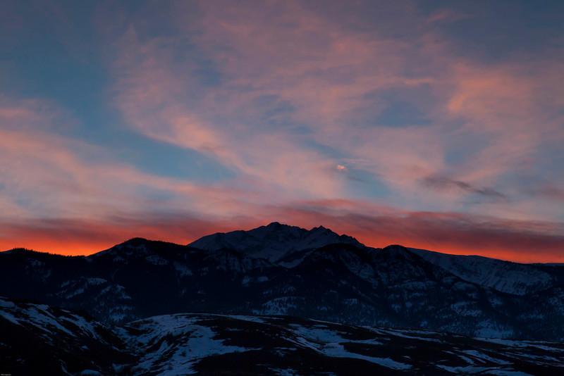 Electric Peak, I think. Near Gardiner Montana.