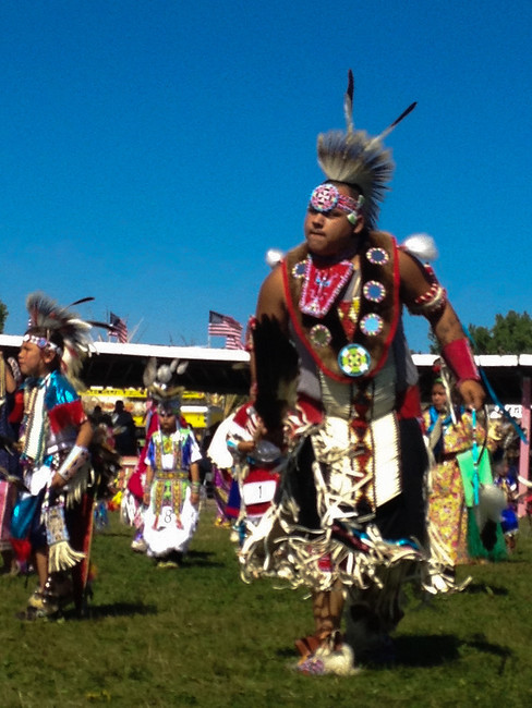 crow fair pow wow