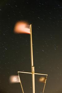 American flag at Montauk Point