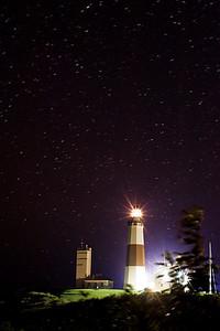 Starry night at Montauk Lighthouse