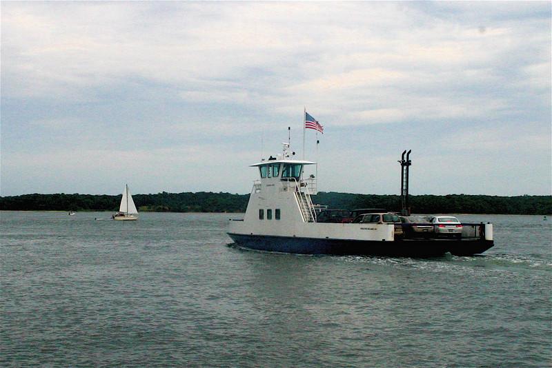 Summer beach vacation, 2006<br /> Shelter Island Ferry