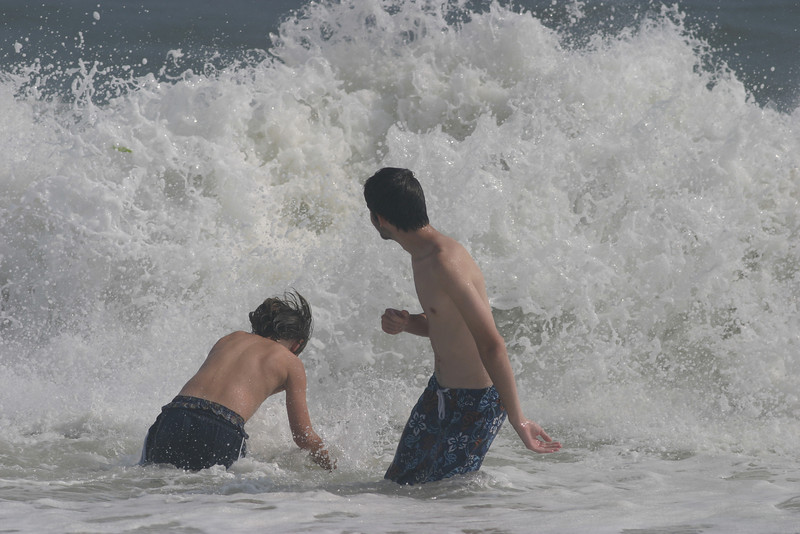 Summer beach vacation, 2006